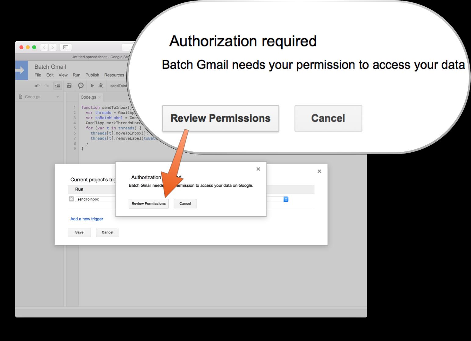 KF: Batch Gmail